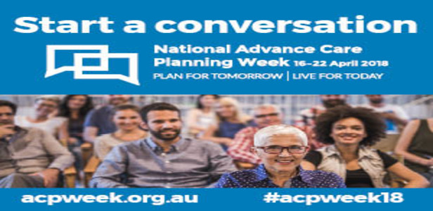 Advance Care Planning Week – time to plan